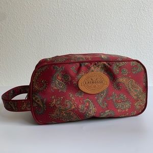 Lacrosse Paisley Travel Bag